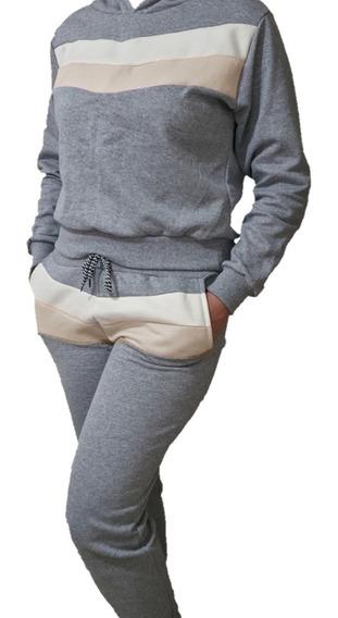 Conjunto Moletom Liso Estampa Blusa Frio Calça Moleton