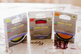 Filtros Hoya Originais Comprados 2015 Quase Nunca Usados
