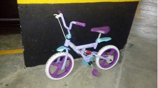 Bicicleta Infantil Aro 12 Frozen Bandeirante