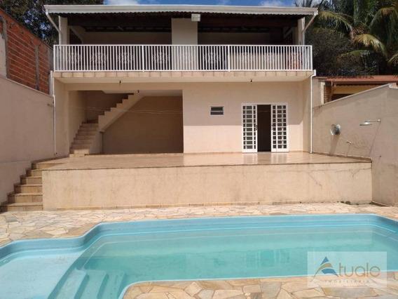 Casa Com 3 Dormitórios À Venda, 255 M² Por R$ 530.000,00 - Loteamento Remanso Campineiro - Hortolândia/sp - Ca6699
