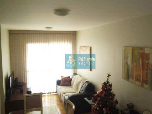 Apartamento Com 3 Dormitórios, 1 Vaga, Piscina,  À Venda, 52 M² Por R$ 450.000 - Vila Santo Estéfano - São Paulo/sp - T3e170a - Ap0211