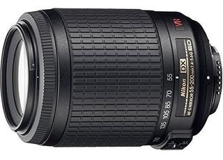 Objetivo Nikon Af-s Dx Nikkor 55-200 Mm F / 4-5.6g Ed Vr Ii