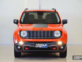 Jeep Renegade Trailhawk 2016 Laranja Diesel