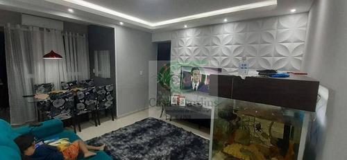 Imagem 1 de 13 de Apartamento Seminovo De Dois Dormitórios Com Sacada Vista Livre. - Ap6730
