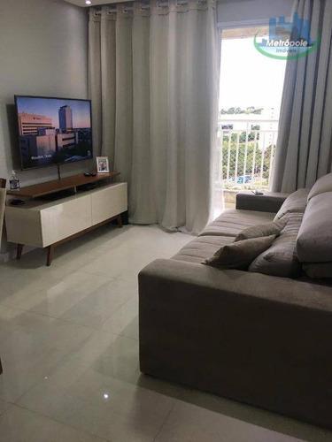 Apartamento À Venda, 61 M² Por R$ 330.000,00 - Macedo - Guarulhos/sp - Ap1222