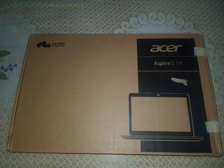 Notebook Acer E-14 Intel I7 7500 4gb Ram 1tb 14 Intel Hd620