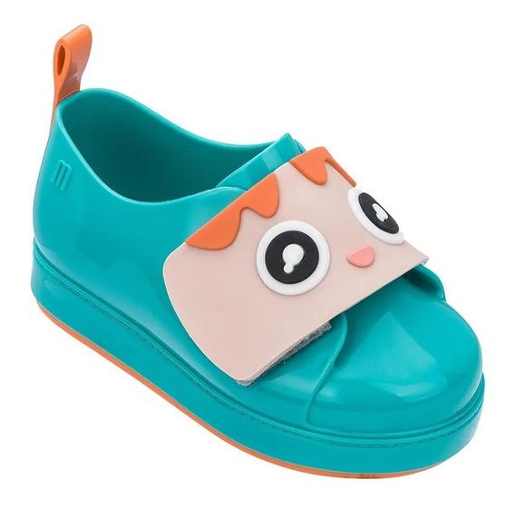 Mini Melissa Go Sneaker+turma Do Pudim Azul - Original - Nf