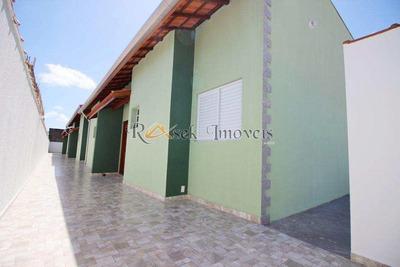 Casa Com 2 Dorms, Cibratel Ii, Itanhaém - R$ 154 Mil, Cod: 60 - V60