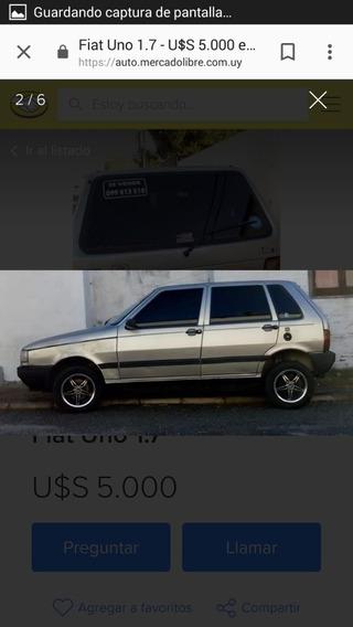 Fiat Uno 1.7 Sd 2001