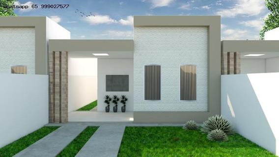 Casa Para Venda Em Várzea Grande, Parque Do Lago, 2 Dormitórios, 1 Suíte, 1 Banheiro, 2 Vagas - 110_1-1247398