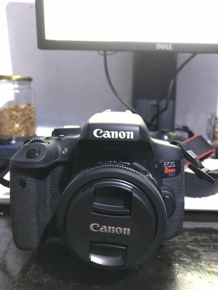 Câmera Fotográfica E Lente