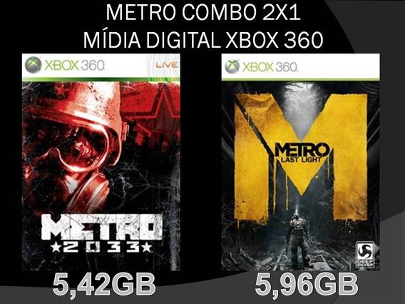 Metro Combo 2x1 Mídia Digital Xbox 360