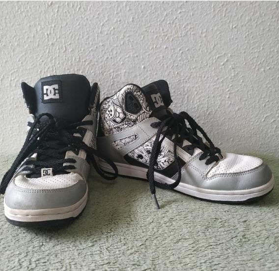Tênis Dc Shoes Cano Alto.