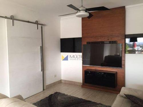 Apartamento Com 3 Dormitórios À Venda, 91 M² Por R$ 583.000 - Vila Lanzara - Guarulhos/sp - Ap0106