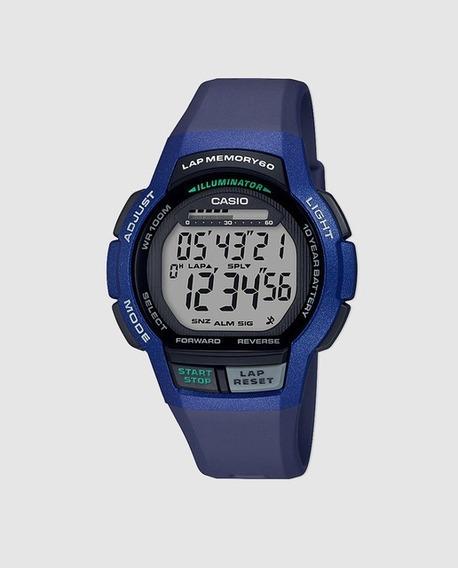 Relógio Digital Casio Ws1000h-2avdf Linha Standard