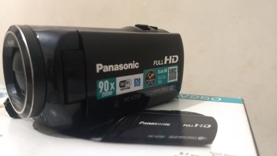 Filmadora Panasonic Hc-v250 Full Hd (zoom Inteligente 90x)
