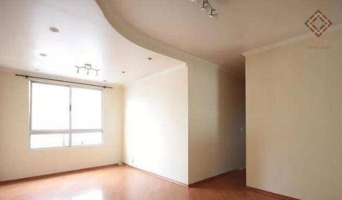 Apartamento Com 3 Dormitórios À Venda, 63 M² Por R$ 290.000,00 - Sacomã - São Paulo/sp - Ap49999