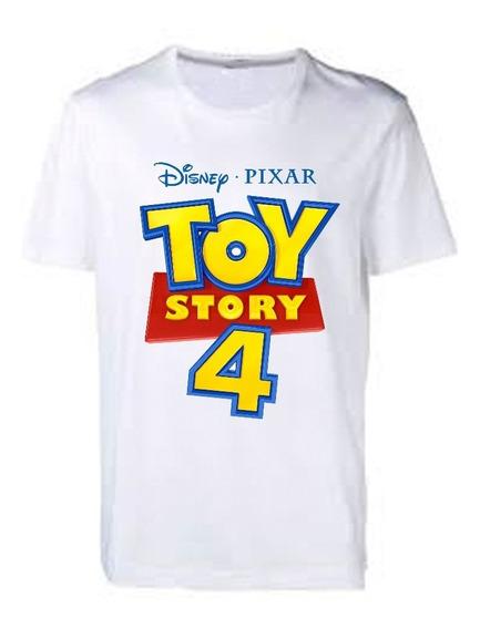 Playera Toy Story 4 Niños Adultos Unisex Log Liquidacion
