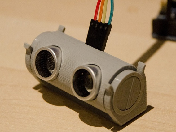 Case Capa Regulável Sensor Ultrassom Arduíno