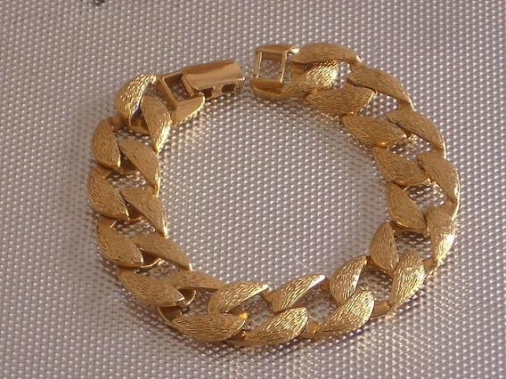 Antigua Pulsera Marca Napier Dorado Oro Impecable