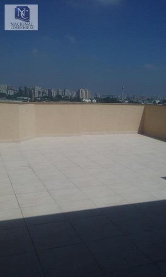 Cobertura Com 2 Dormitórios À Venda, 100 M² Por R$ 275.000 - Vila Metalúrgica - Santo André/sp - Co1894