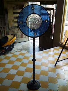 Mandala De Vidrio Tipo Magiscopio Original Y Unico