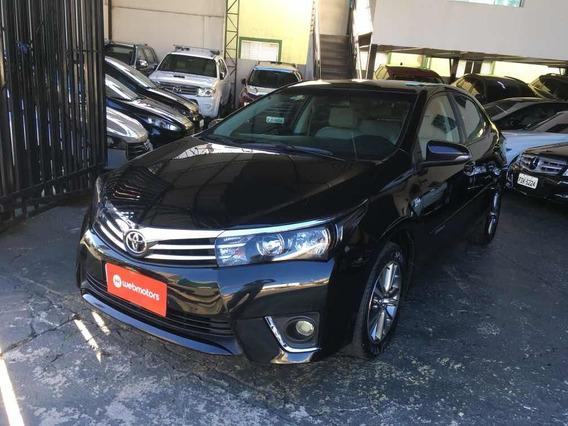 Toyota Corolla Gli Upper 1.8 Flex 2016 Preto Revisado