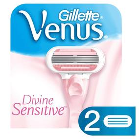 Carga Gillette Venus Divine Com 2 Unidades