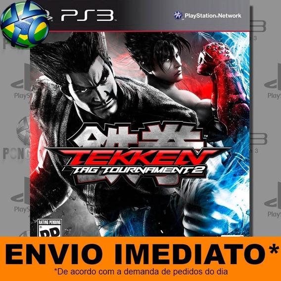 Jogo Ps3 Tekken Tag Tournament 2 Psn Play 3 Envio Digital
