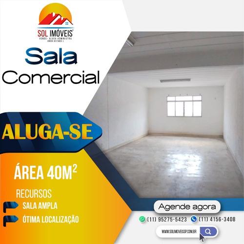 Sala Comercial 40m² Para Locação - Santana De Parnaíba