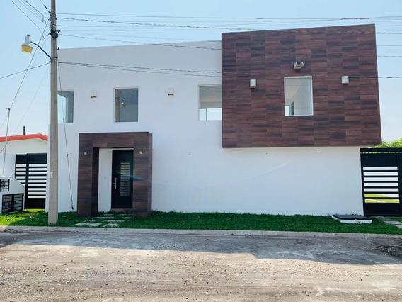 Casa En Exclusivo Fraccionamiento Oaxtepec