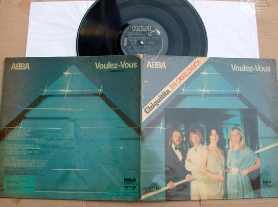 Abba - Voulez Vous _ Chiquitita En Español / Vinilo 1979