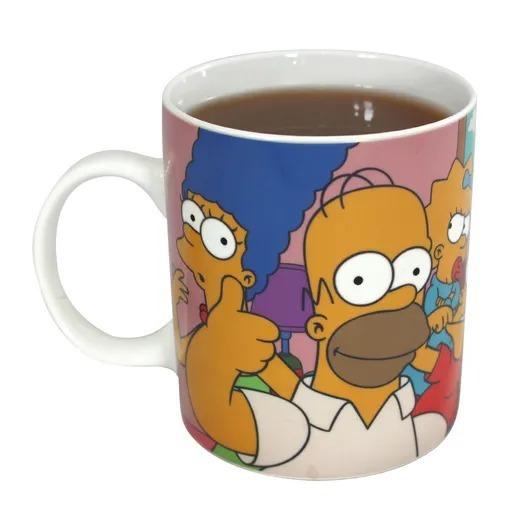 Caneca Magic 300ml Família The Simpsons