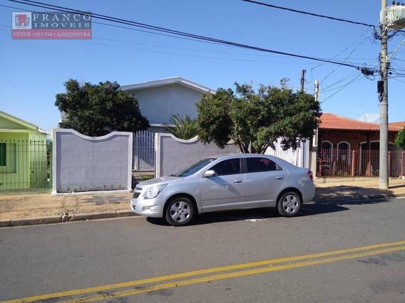 Casa Com 3 Dormitórios À Venda, 177 M² Por R$ 580.000 - Vila Santo Antônio - Valinhos/sp - Ca0565
