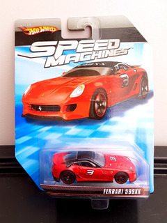 Hot Wheels Speed Machines Ferrari 599xx Lacrado