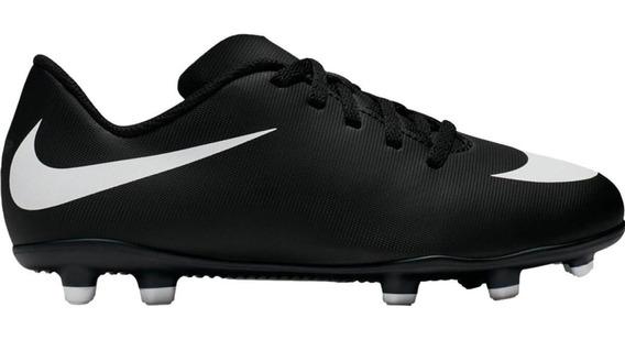 Chuteira Infantil Campo Nike Bravata Ii Jr Fg 844442-001