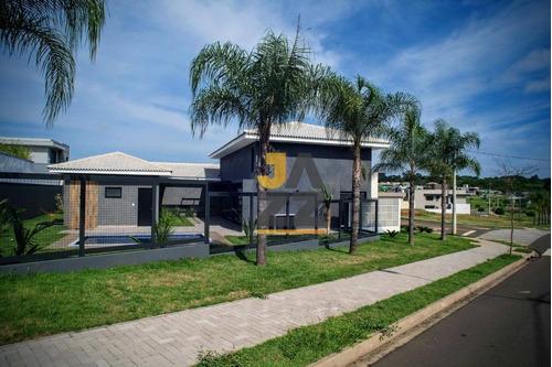Casa Com 3 Dormitórios À Venda, 275 M² Por R$ 1.800.000,00 - Residencial Tamboré - Bauru/sp - Ca12576