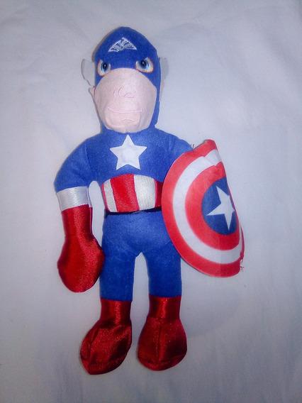 Peluche Avengers Capitan America 33cm