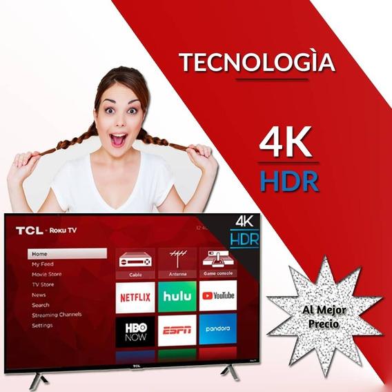 Televisor Super Smart Tcl 55 4k Uhd Roku ( Precio Oferta)