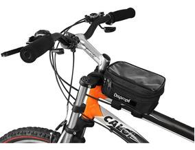 Bolsa De Quadro Dispropil Bicicleta/bike P/ Celular E Gps
