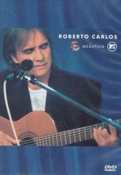 Roberto Carlos Acustico Mtv - Dvd Mpb