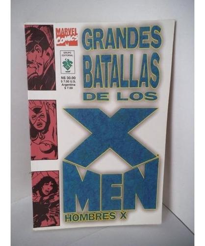 Grandes Batallas De Los X-men Editorial Vid