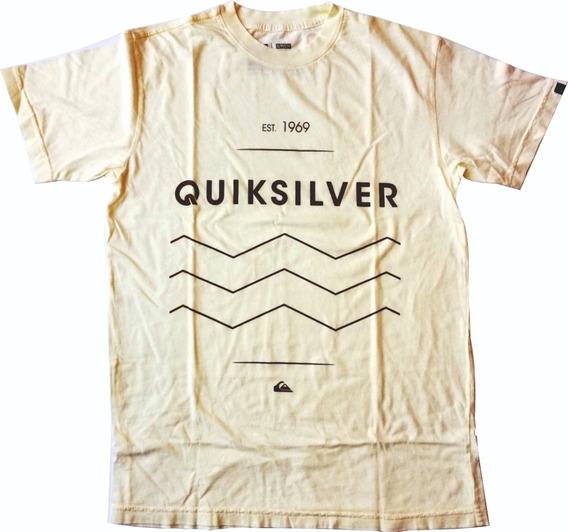 Franelas Quiksilver 100 % Originales