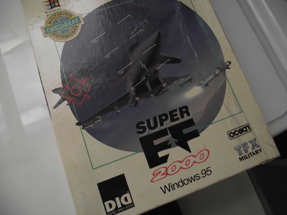 Super Ef 2000 - Cd Rom Raridade