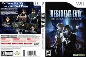 Wii 3 X Resident Evil: Umbrella Chronicles, Darkside E Re 4