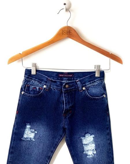 Pantalones Blue Jeans Isle Para Caballero Y Niños