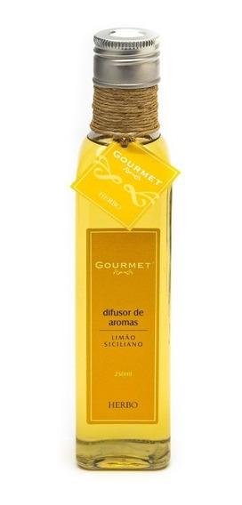 Difusor De Aroma Gourmet Limão Siciliano 250ml Herbo