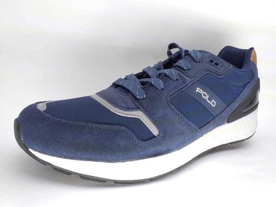 Liquidación Tenis Polo Azul Talla 30