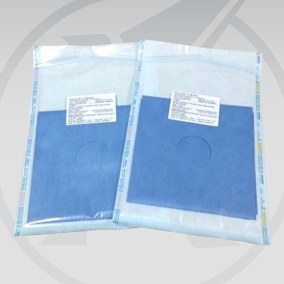 Campo Cirúrgico Estéril Com Fenestre 40 X 40 Cm Kit Com 10un