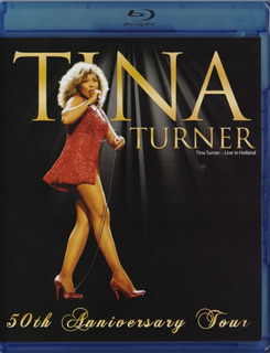 Tina Turner Live In Holland Concierto Blu-ray